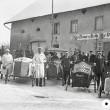 Fasnachtsrennen 1929 vor dem Feldeck