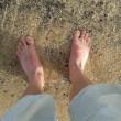 Füße im Meer I