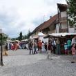 Marktstände in Richtung Feldeck