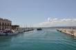 Bucht von Ortygia beim Yachthafen