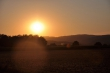 Sonnenuntergang an Mariä Himmelfahrt