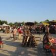 Abendlicher Mittelaltermarkt