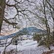 Küssaburg im Winter