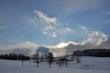 Winterabend, fotografiert von Martin Dühning