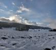 Winterlicher Berg Richtung Lauchringen