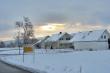 Winterlicher Sonnenaufgang bei Oberlauchringen