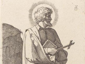 Friedrich Overbeck: St. Philip Neri, Radierung von 1826, Ausschnitt (Quelle: Wikimedia Commons, gemeinfrei)