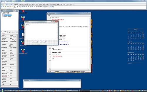 """Lazarus für FreePascal macht seinem Namen alle Ehre: Äußerlich betrachtet scheint hier das gute alte Delphi gänzlich auferstanden, dank FreePascal auch mit einem fähigen Compiler unter der Haube. Lazarus-Produkte sind allerdings kaum als """"schlank"""" zu bezeichnen - gut 10 MB (!) legt eine leere Anwendung auf die Festplatte. Da ist noch viel Raum für Optimierungen."""