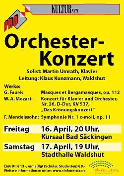 Zwei Frühlingskonzerte von Sinfonetzia
