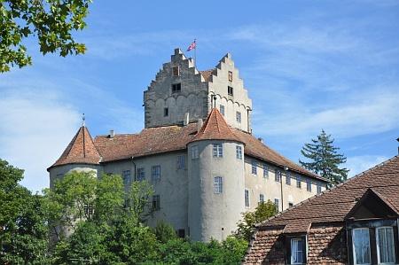 Die Burg Meersburg bei Meersburg