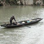 Mit dem Boot auf dem Jangtse-River