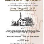 Konzert nach Weihnachten des Orchestervereins Bad Säckingen