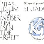 Es gibt ein offizielles Schulemblem am Klettgau-Gymnasium!