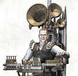 Niarts Steampunk-Orgel