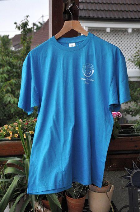 Im Jahr 2012 erscheint statt nur eines Logos endlich einmal auch wieder ein richtiges T-Shirt mit KGT-Emblem.