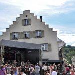 Hauptteil und Abschluss des Mittelalterfestes 2012