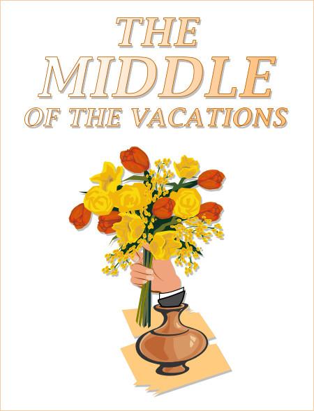 Die Mitte der Ferien 2012 ist am Freitag, den 17. August wieder erreicht!