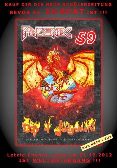 Offizielles Werbeplakat zur Phoenix 59