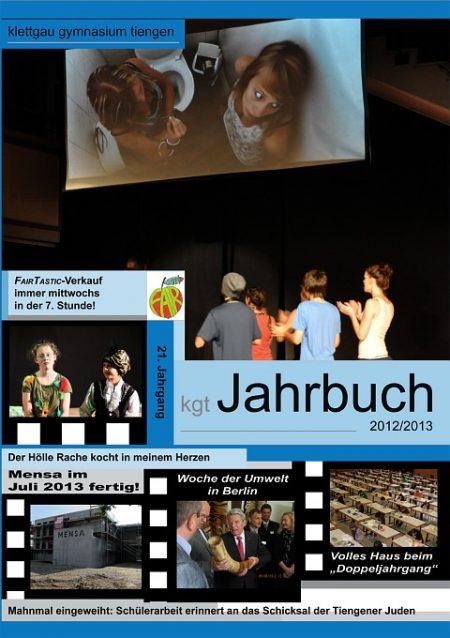 Das Cover des KGT-Jahrbuchs 2012/2013 - diesmal ist es blau.