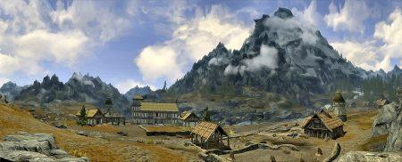 """Am Fuße des Hoch-Hrothgars gelegen ist in meiner Version von Skyrim das malerische Anwesen """"Hadley Manor"""""""