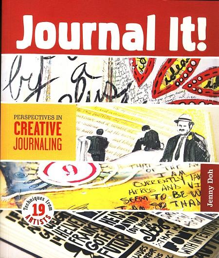 """Titelcover zum Kunstratgeber """"Journal It!"""" von Jenny Doh"""