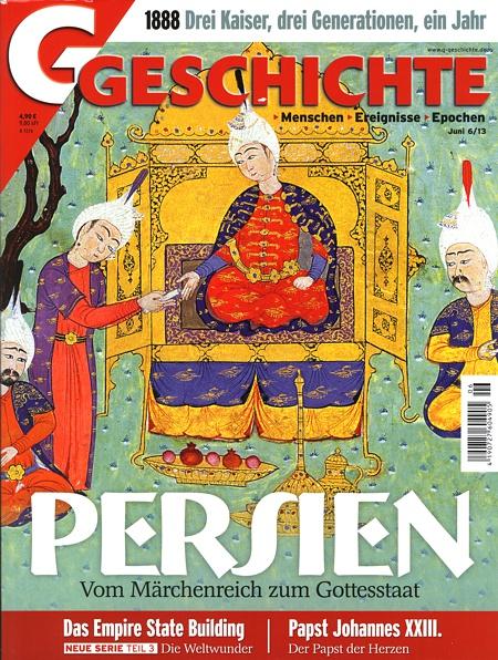 Cover von G/Geschichte, Ausgabe Juni 2013