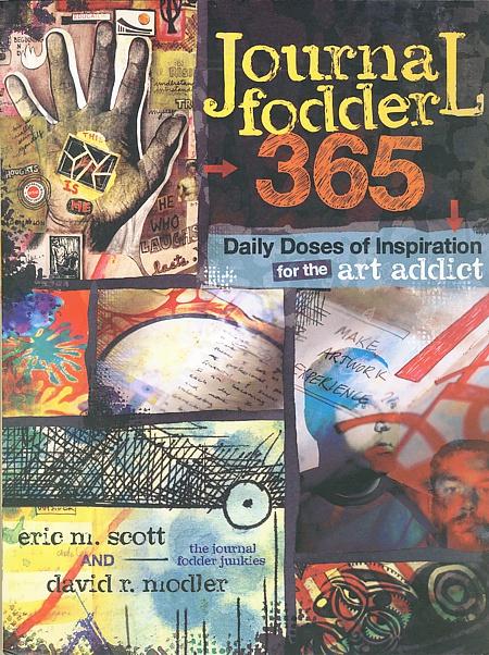 Journal Fodder 365 gibt Anleitungen für kreatives Journaling im Jahreskreis.