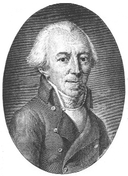 Johann Georg Jacobi in einem Kupferstich (Quelle: Wikimedia Commons)