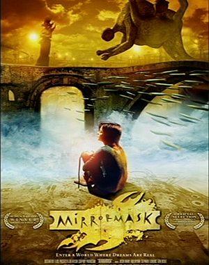 """Werbeplakat zum Film """"Mirrormask"""""""