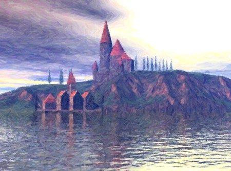 Schloss Milony Island, benannt wie die Insel nach ihrem einstigen Herren, ist heute in Staatsbesitz. Miloni residiert inzwischen als Privatmann auf einem Herrengut in der Nähe.