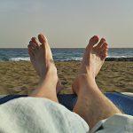Der zweite Tag im Süden: Am Strand...