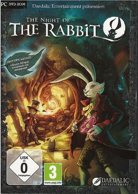 """Nicht nur das Cover zum PC-Spiel """"Night of the Rabbit"""" ist stimmig - das komplette Spiel hält, was das Cover verspricht."""