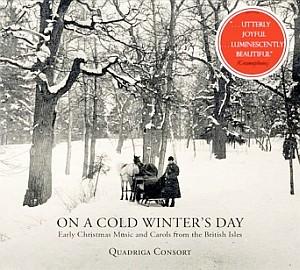 Das jüngste Album von Quadriga Consort enthält eine verzückende Sammlung von britischen Weihnachts- und Winterliedern.