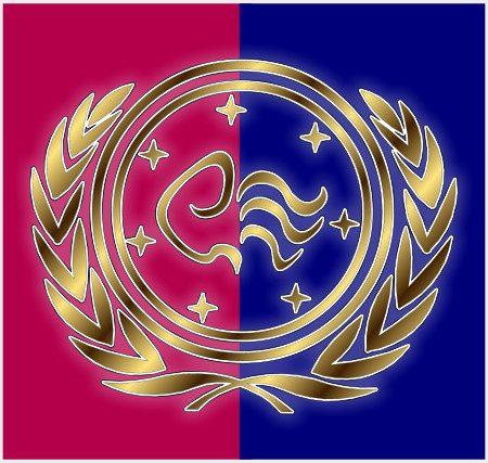 Staatsflagge der Neu-Nitramischen Konföderation seit dem dritten Jahrhundert a. C.
