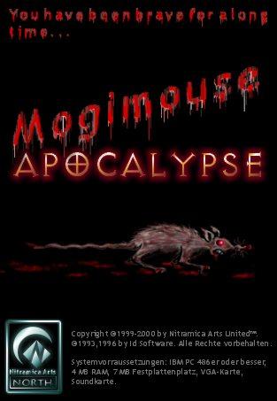 """Ursprünglich sollte """"Mogimaus Apocalypse"""" ein stark ironischer Käse-Egoshooter werden."""