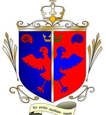 """Kaiserliches Wappen von Prinz Timotheus Andune, """"dem Gütigen"""""""