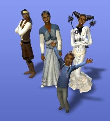 """Mittels von Fans erstellten kostenlosen Mods konnte man seine Sims in """"Die Sims 2"""" ganz individuell frisieren und einkleiden - auch ohne sich dafür in einem Store kaputtkaufen zu müssen."""