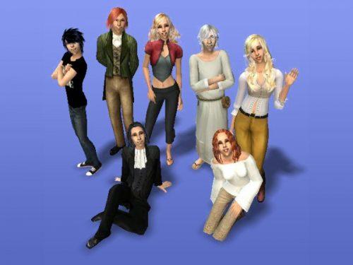 Die Sims2-Familie Dee - eine meiner liebsten Simpopulationen
