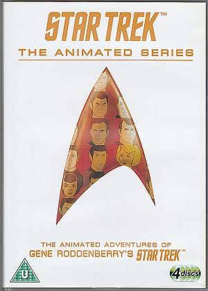 Das Cover der DVD-Fassung von The Animated Series, wie sie 2011 bei CBS Studios Inc erschienen ist.