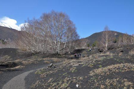 Kraterwanderweg am Ätna auf etwa 1900 m Höhe (Foto: Martin Dühning)