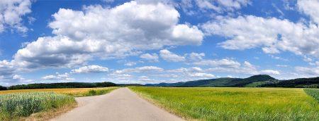 Im Juni wirkt die Klettgaulandschaft viel weiträumiger und weltoffener als sonst. (Foto: Martin Dühning)