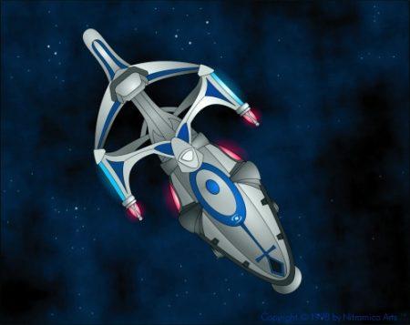 Die N.S.S. Pascal ist mit 192 Betriebsjahren das dienstälteste Raumschiff der nitramischen Flotte - und wird dies wohl auch noch eine Weile bleiben.