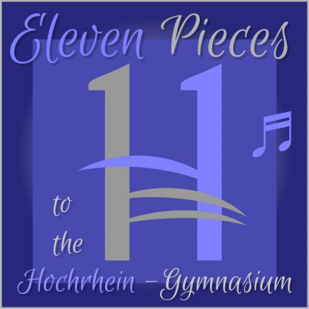 "Albumcover zu ""Eleven Pieces to the Hochrhein-Gymnasium"" (2002-2003)."