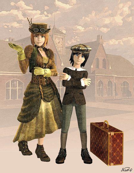 Die Anastratin-Steampunk und die darin enthaltene Graphic Novel um Jany Jade verzögern sich noch.