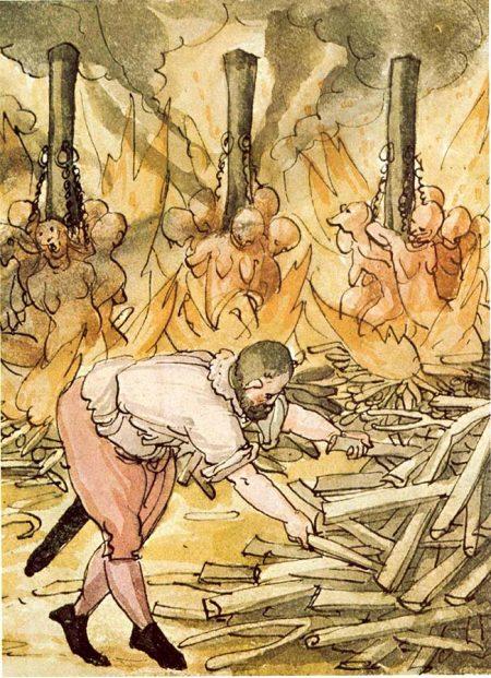 """""""Operative Maßnahmen"""" gegen die Hexensekte (Quelle: Wickiana/Wikimedia, gemeinfrei)"""