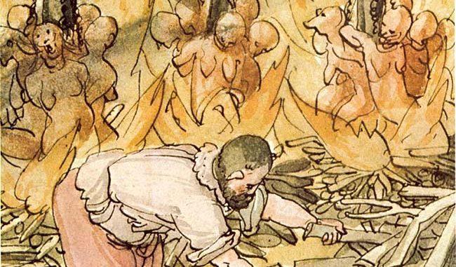 """""""Operative Maßnahmen"""" gegen die Hexensekte (Quelle: Wikipedia, gemeinfrei)"""