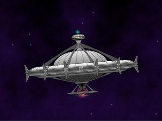 Raumstation St. Victor im Orbit von Ninda