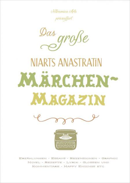 Titelseite des Anastratin Märchenmagazins - der kommenden Druckausgabe von Niarts Anastratin.