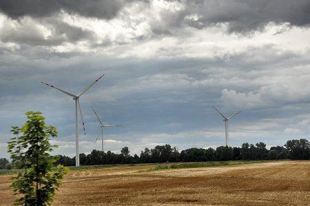 Auch in Polen gibt es inzwischen viele Windparks (Foto: Martin Dühning)