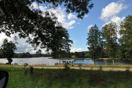 Einer der vielen Seen bei Wiezyca (Foto: Martin Dühning)